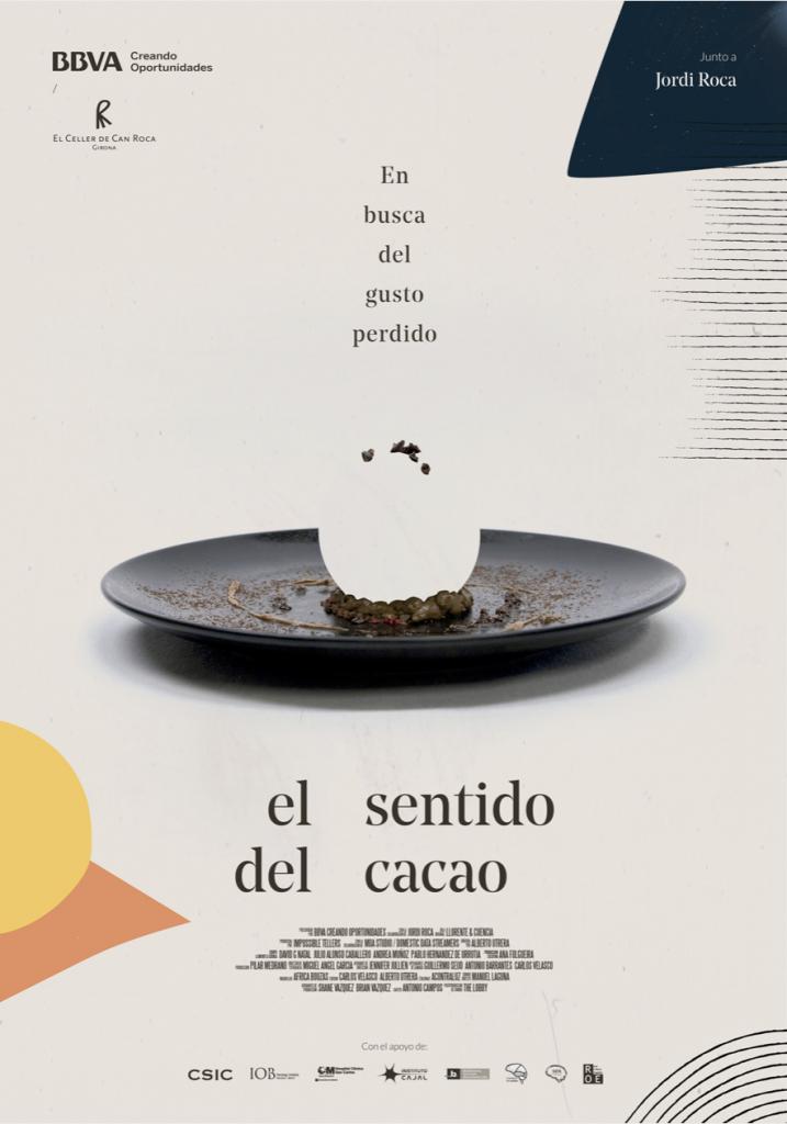 """Cartel """"El sentido del cacao"""""""