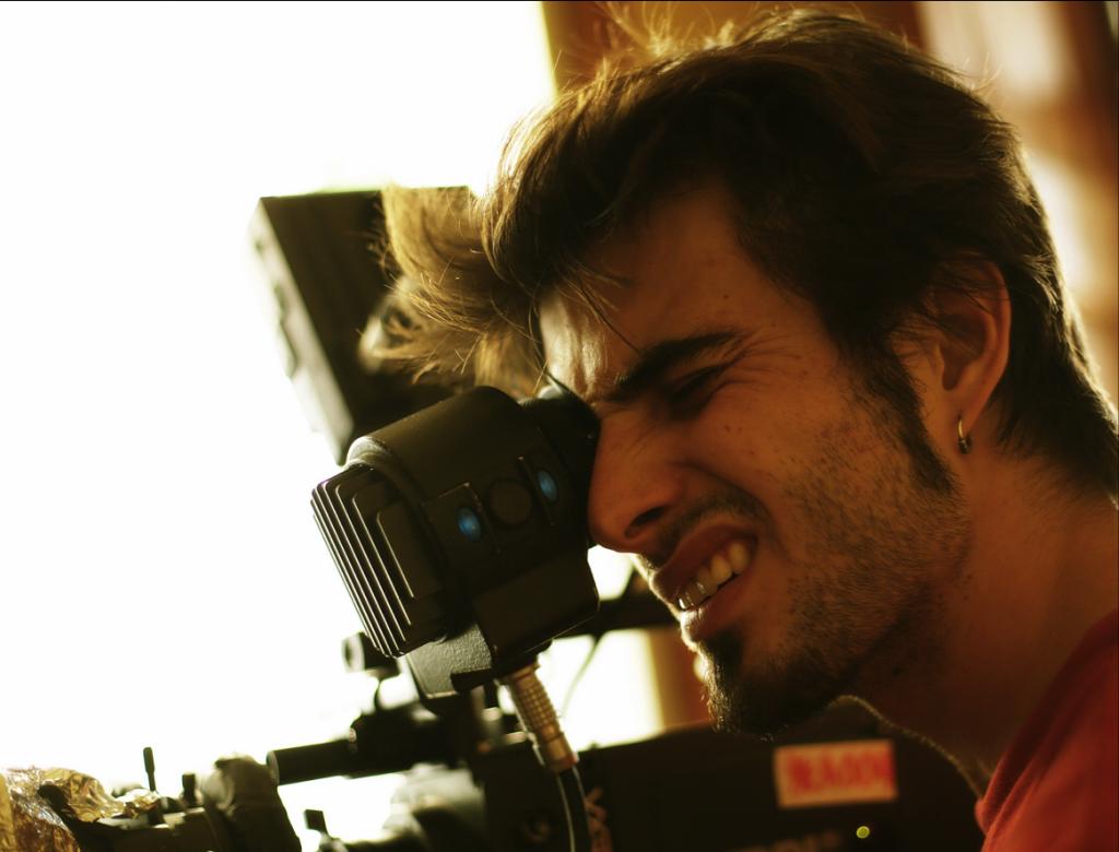 Víctor Català, director de A little taste