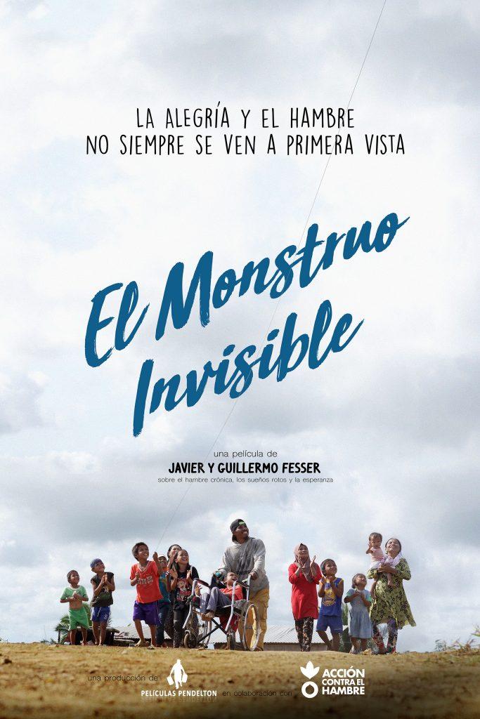 Cartel El monstruo invisible