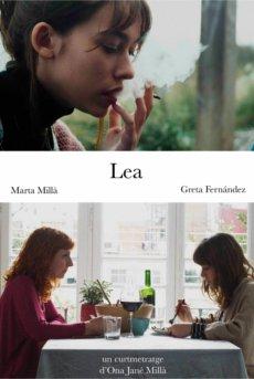 Cartel cortometraje Lea