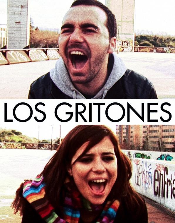 """Cartel de """"Los gritones!"""
