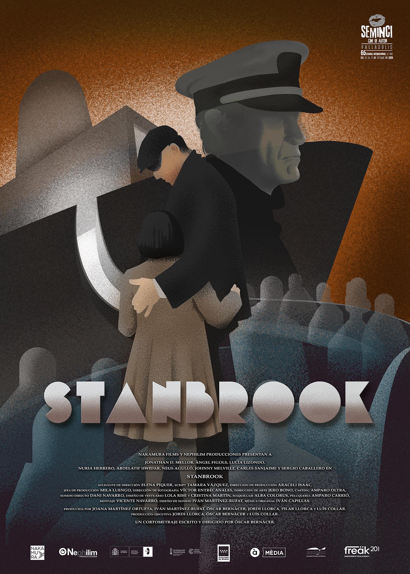 "Cartel de ""Stanbrook"""