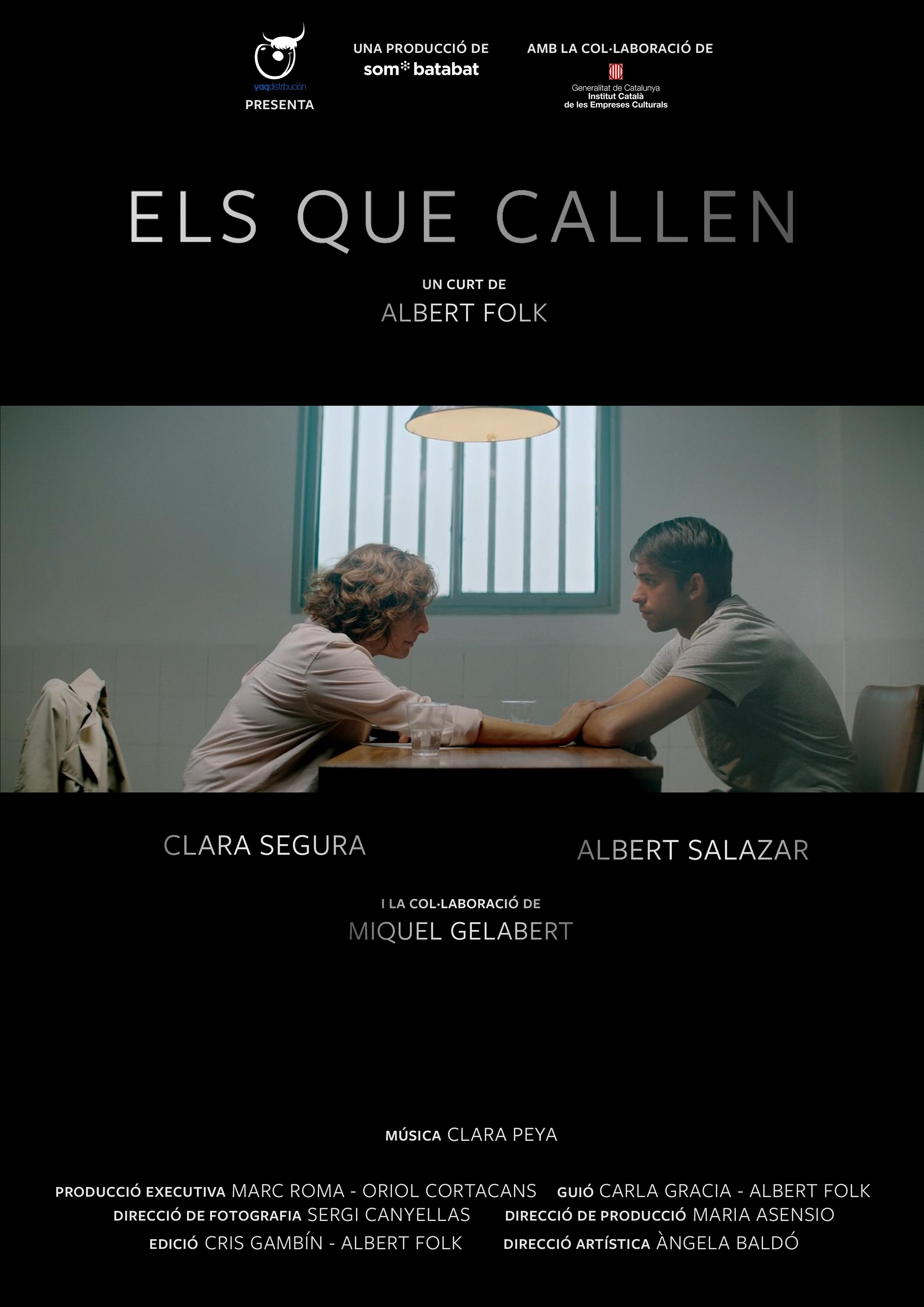 """Cartel """"Els que callen"""""""